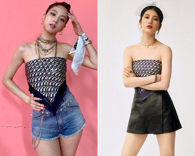 Tranh cãi giữa fandom Jisoo - Suzy: Cùng làm đại sứ thương hiệu của Dior, 5 lần 10 lượt đụng hàng nhưng ai mới là nàng thơ đích thực của hãng? - Ảnh 3.