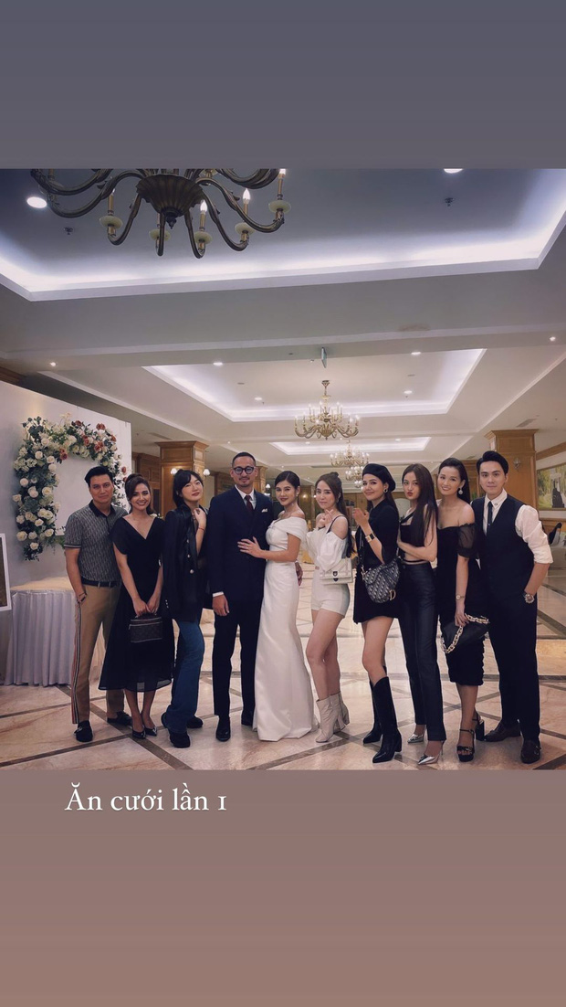 Việt Anh, cá sấu chúa Quỳnh Nga, Phanh Lee và hội bạn bè nổi tiếng quy tụ trong tiệc mời cưới của MC Thu Hoài  - Ảnh 4.