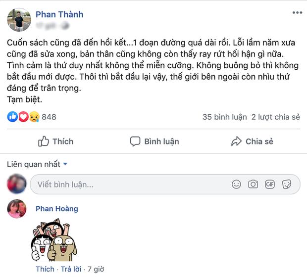 Tổng giám đốc Saigon Square - Phan Thành dọn sạch status nặng tình để cưới vợ, đọc lại vẫn thấy da diết quá! - Ảnh 3.