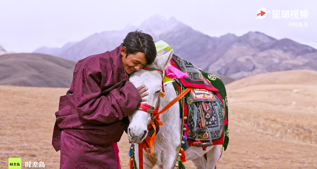 Phim tuyên truyền của hotboy Tây Tạng Đinh Chân chính thức lên sóng: Cảnh đẹp mà người đẹp gấp đôi! - Ảnh 9.