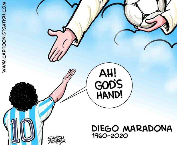 Mạng xã hội tràn ngập hashtag thương tiếc danh thủ người Argentina - Diego Maradona - Ảnh 7.