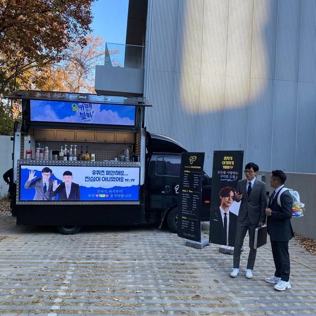 Lee Dong Wook gửi xe cà phê đến xin lỗi một ekip nọ, biết lý do ai cũng phải thốt lên: Anh đã đẹp lại còn khéo - Ảnh 2.