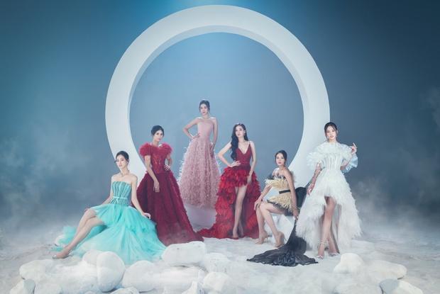 Bộ ảnh 6 Hoa hậu thập kỷ hội tụ gây bão MXH: Toàn visual đỉnh của chóp, chị cả Mai Phương Thuý và em út Tiểu Vy đọ sắc cực gắt - Ảnh 2.