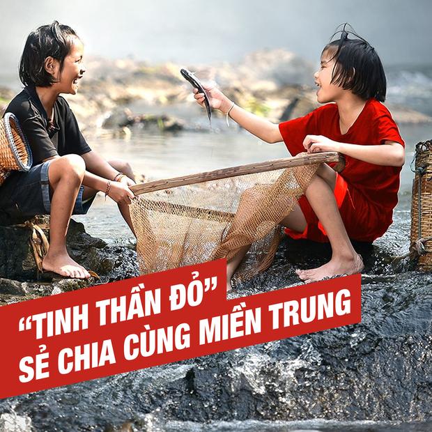 Một tinh thần đỏ Việt Nam, sát cánh bên miền Trung dựng xây lại cuộc sống sau lũ - Ảnh 2.
