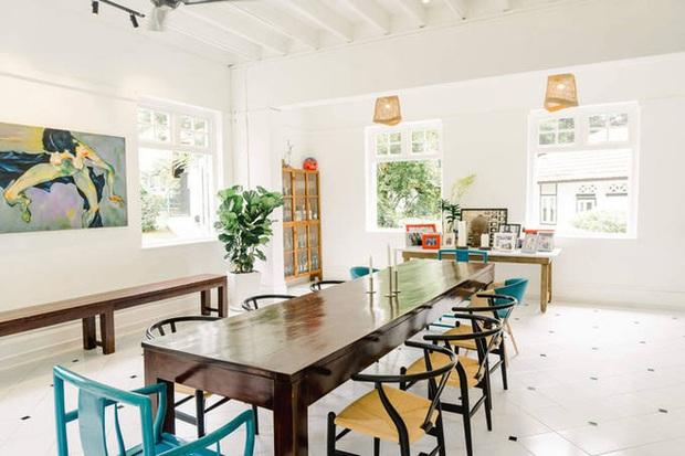 Ở thuê đẳng cấp cựu siêu mẫu Bằng Lăng: Biệt thự cổ 80 năm rộng 5600m2, nội thất xịn sò đưa từ Mỹ sang - Ảnh 7.