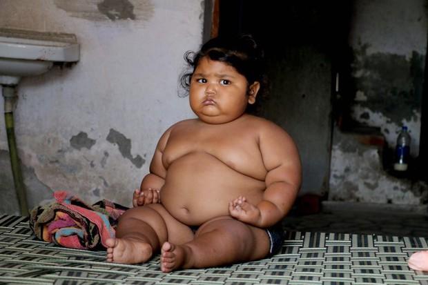 Bé gái béo nhất thế giới 8 tháng tuổi đã nặng gần 20kg, từng khiến truyền thông thế giới phải ngỡ ngàng 3 năm trước giờ ra sao? - Ảnh 10.