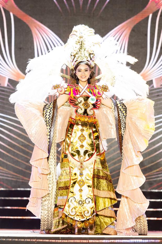 Bán kết Hoa khôi Du lịch Việt Nam 2020: Khánh Ngân đầy gợi cảm, Top 30 trình diễn ấn tượng trang phục dân tộc lạ mắt - Ảnh 7.