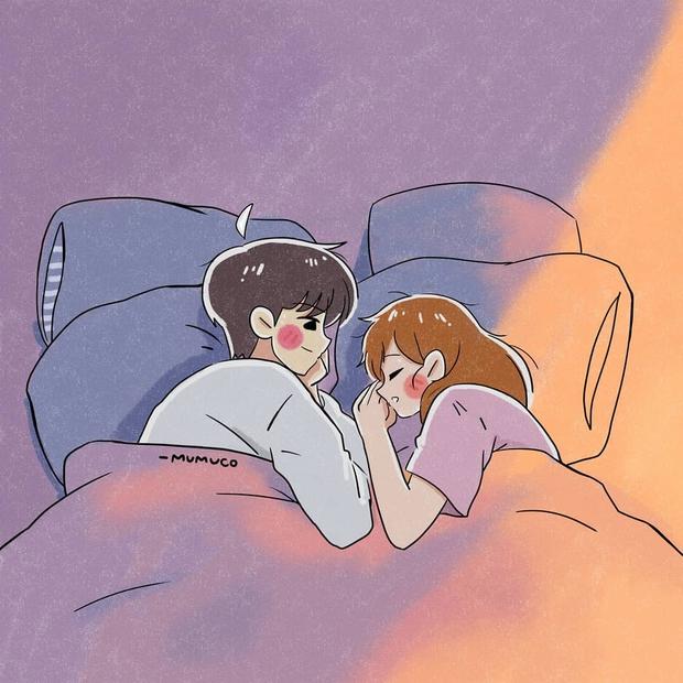 Bộ tranh: Tình yêu quá là sến nhưng mang lại bình yên và hạnh phúc nhiều hơn bạn tưởng - Ảnh 13.