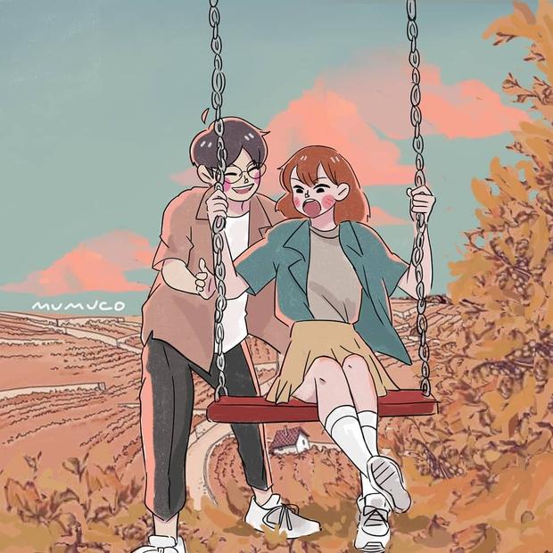 Bộ tranh: Tình yêu quá là sến nhưng mang lại bình yên và hạnh phúc nhiều hơn bạn tưởng - Ảnh 7.