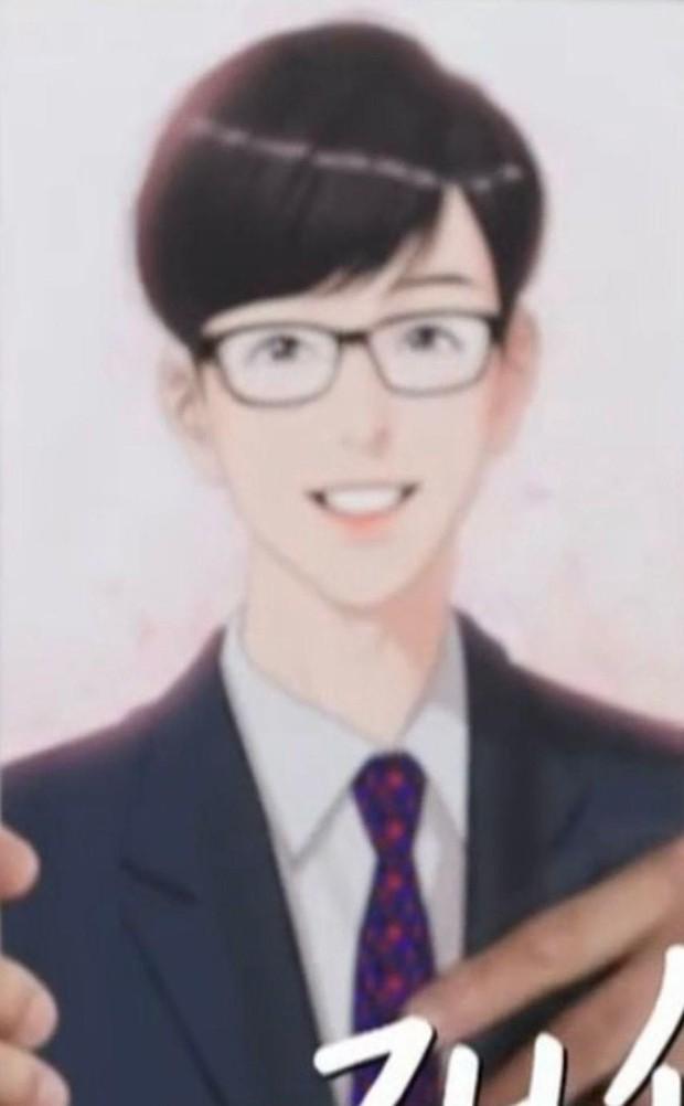 Yoo Jae Suk cười khoái chí khi được ngắm chính mình phiên bản truyện tranh đẹp hơn hoa - Ảnh 2.