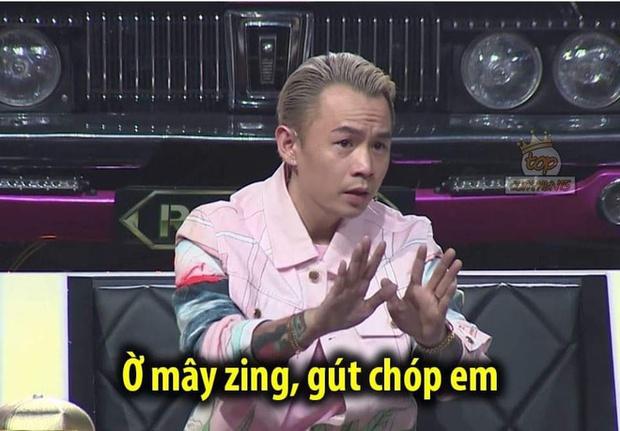 Cười xỉu với bộ sưu tập Ờ mây zing, gút chóp em của Binz tại Rap Việt! - Ảnh 2.