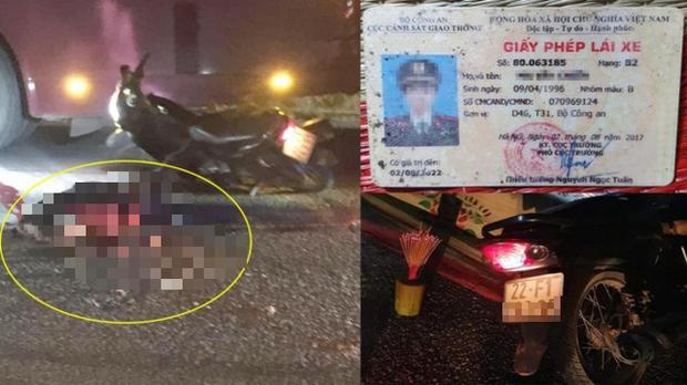 Tuyên Quang: Một chiến sĩ công an thiệt mạng sau va chạm giao thông - Ảnh 1.