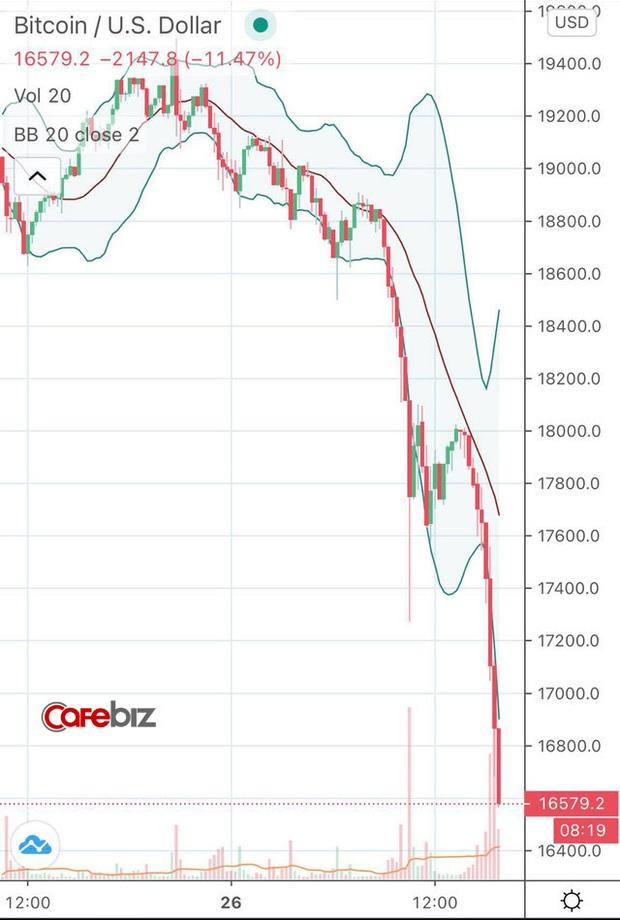 Thất bại trước ngưỡng cửa lịch sử, Bitcoin và toàn thị trường tiền số đồng loạt gãy cánh sau chuỗi ngày bay cao - Ảnh 1.