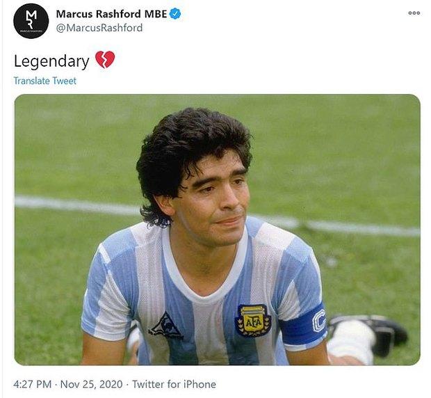 Các siêu sao thế giới tiếc thương huyền thoại Maradona: Vua bóng đá Pele hẹn chơi bóng cùng Cậu bé vàng trên thiên đàng - Ảnh 9.
