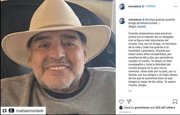 Diego Maradona và những ngày cuối cùng của một huyền thoại đáng thương - Ảnh 3.