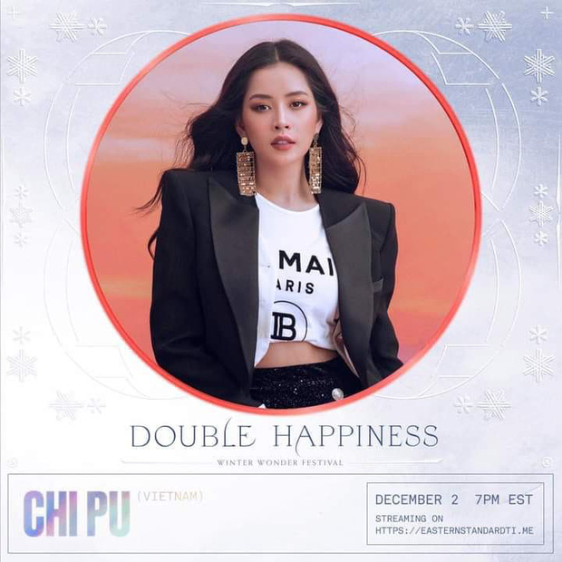 Chi Pu sẽ xuất hiện cùng sân khấu với ATEEZ, Chung Ha cùng dàn sao quốc tế trong đêm nhạc mừng Giáng sinh! - Ảnh 2.