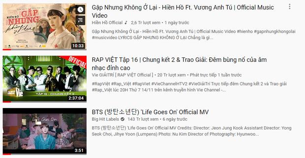 Hiền Hồ đánh bại Rap Việt và cả BTS, mang về top 1 trending YouTube đầu tiên trong sự nghiệp! - Ảnh 3.