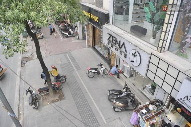 Ảnh: Phố mua sắm ở Hà Nội vắng như chùa Bà Đanh dù vào giờ nghỉ trưa ngày Black Friday - Ảnh 4.