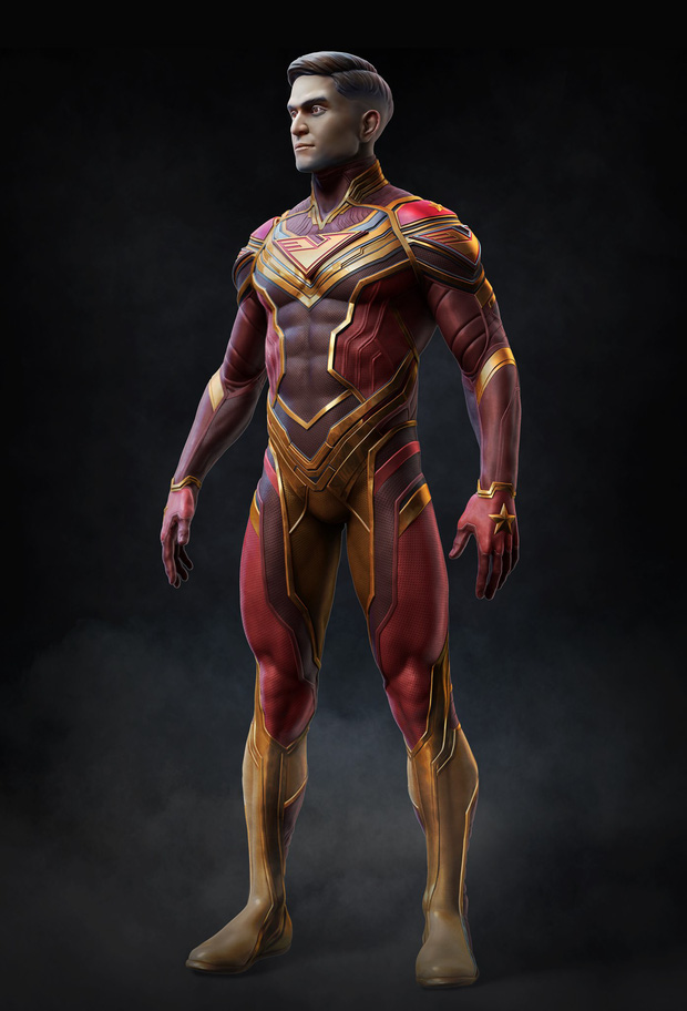 Thiết kế trang phục VINAMAN gây sốt vì siêu ngầu nhưng chú bé lại hơi khiêm tốn, hóa ra là có lý do cả! - Ảnh 2.