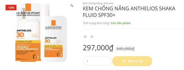 """Kem chống nắng sale mọi mặt trận, giá chỉ từ 99k chị em mau """"hốt"""" ngay - Ảnh 5."""