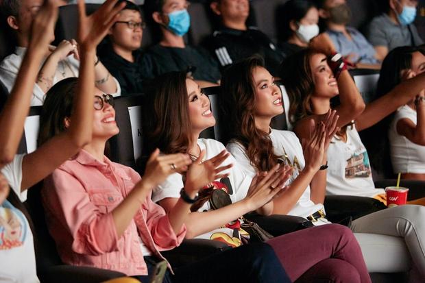 9 thí sinh Hoa hậu, Á hậu hoá SNSD trong buổi công chiếu show thực tế Vietnam Why Not - Ảnh 5.
