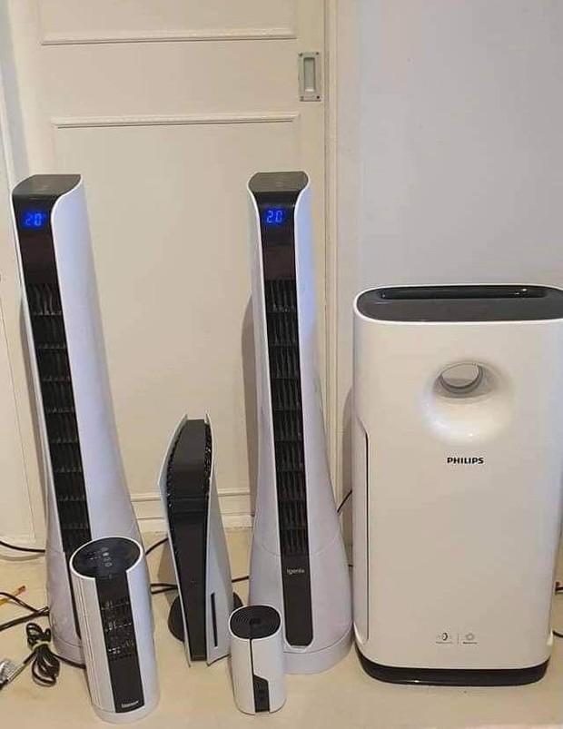 Nói dối vợ máy PlayStation 5 mới mua là máy lọc không khí nhưng không thành, thanh niên Đài Loan phải bán lại với giá rẻ - Ảnh 2.