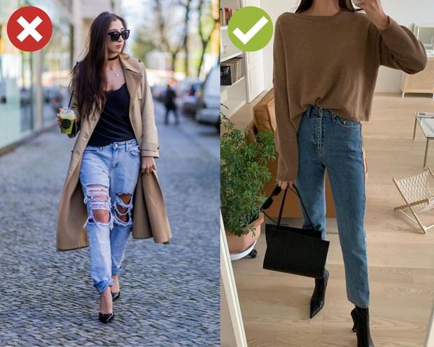4 kiểu quần jeans có cho cũng không lấy vì diện lên lôi thôi, lỗi mốt và dễ còn tố sạch nhược điểm đôi chân - Ảnh 1.