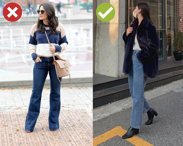 4 kiểu quần jeans có cho cũng không lấy vì diện lên lôi thôi, lỗi mốt và dễ còn tố sạch nhược điểm đôi chân - Ảnh 3.