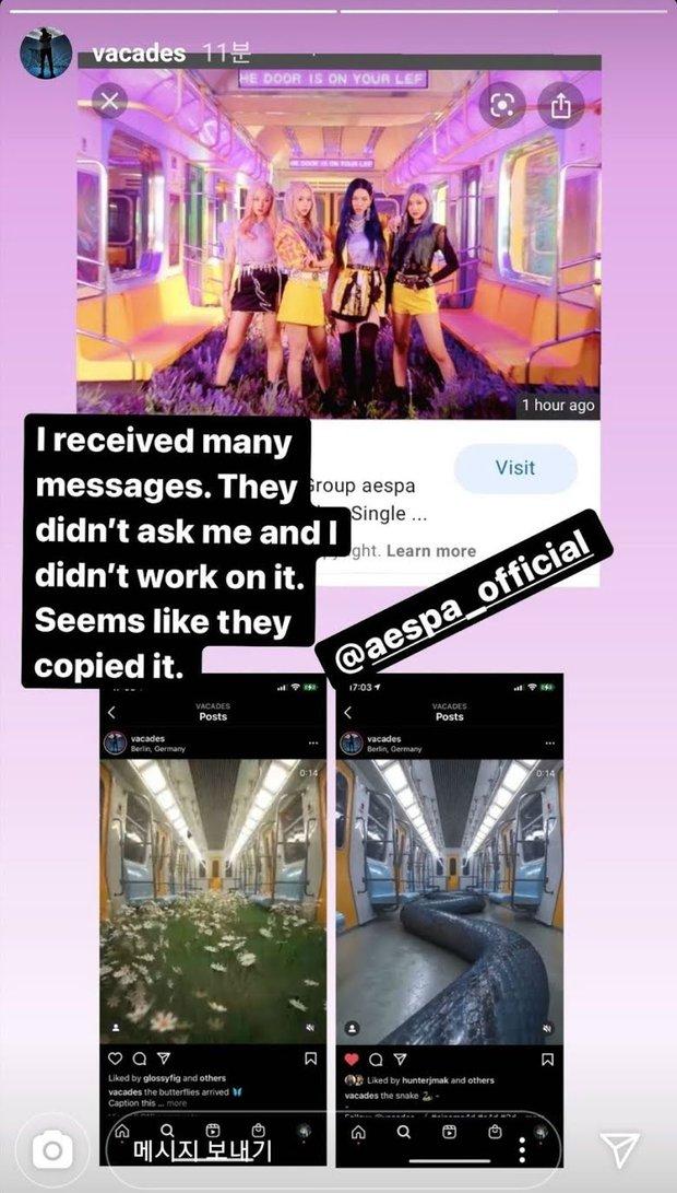 Sân khấu của aespa lại bị tố đạo nhái, netizen mỉa mai SM không còn là sách mẫu, để gà nổi bằng scandal - Ảnh 7.