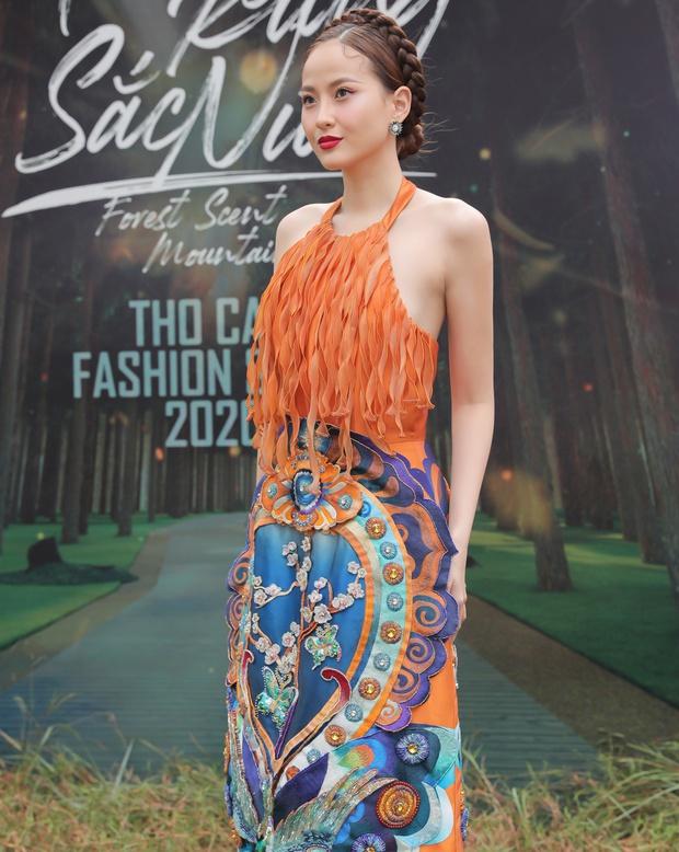 Sự kiện đặc biệt giữa rừng: Con gái Đoan Trang xuất thần, Hoàng Thuỳ chìm trong váy khủng, thí sinh Miss Tourism bức tử vòng 1 - Ảnh 15.