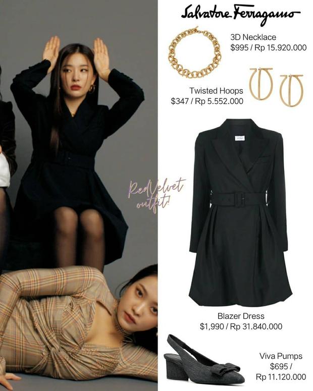 Chuẩn bị comeback, Red Velvet dát đầy hàng hiệu lên người, bất ngờ là thương hiệu trang phục của Irene - Ảnh 5.