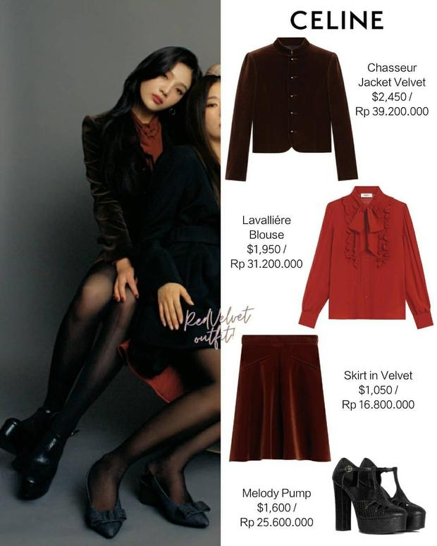 Chuẩn bị comeback, Red Velvet dát đầy hàng hiệu lên người, bất ngờ là thương hiệu trang phục của Irene - Ảnh 4.