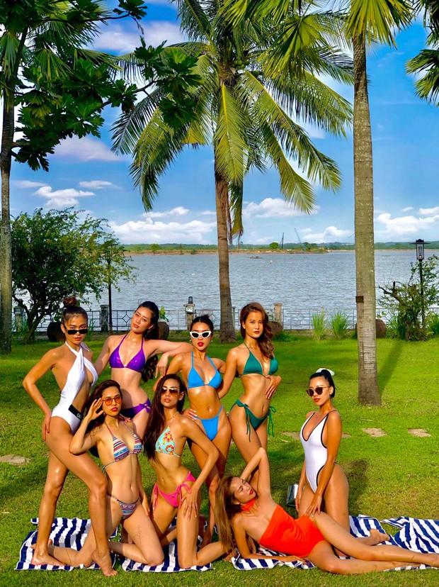 Dàn mỹ nhân đình đám Vietnam Why Not diện bikini nóng bỏng mắt: Ai có body quyến rũ nhất? - Ảnh 1.