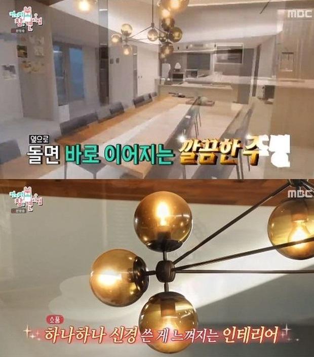 Mẹ Kim Tan Kim Sung Ryung khoe căn hộ cao cấp ở với chồng đại gia: View sông Hàn, bàn ăn khổng lồ khiến khách mời rớt hàm - Ảnh 5.