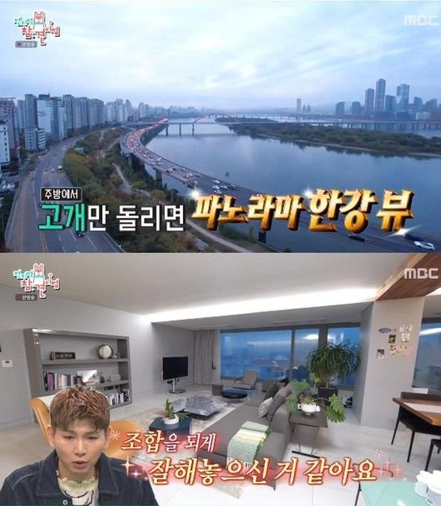 Mẹ Kim Tan Kim Sung Ryung khoe căn hộ cao cấp ở với chồng đại gia: View sông Hàn, bàn ăn khổng lồ khiến khách mời rớt hàm - Ảnh 4.