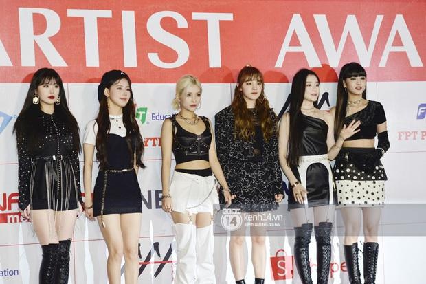 """Năm ngoái quân đoàn sao Hàn khuynh đảo thảm đỏ AAA ở Việt Nam: Yoona - Park Min Young đẹp xỉu, Ji Chang Wook, Red Velvet và dàn idol """"bùng nổ"""" - Ảnh 7."""