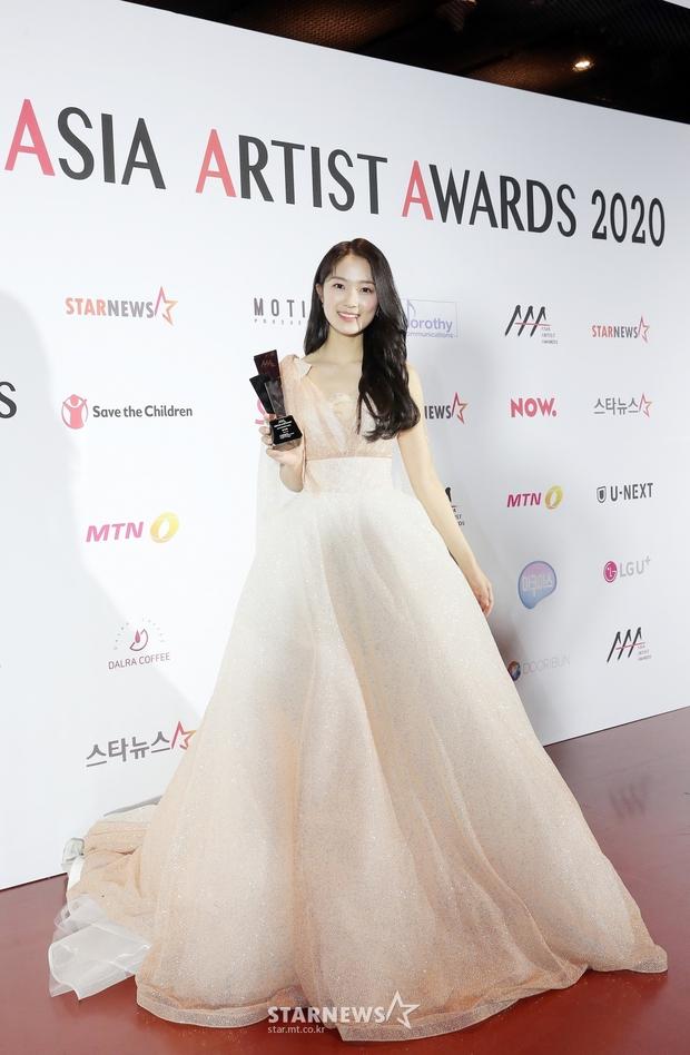 Siêu thảm đỏ AAA 2020: Seo Ye Ji - Kim Soo Hyun visual cực phẩm, tiểu tam Han So Hee xinh như công chúa, dàn idol bùng nổ nhan sắc - Ảnh 14.