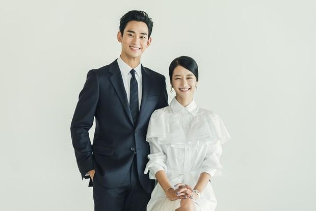 Kim Soo Hyun - Seo Ye Ji xúng xính như cô dâu chú rể lên nhận giải AAA 2020 - Ảnh 5.