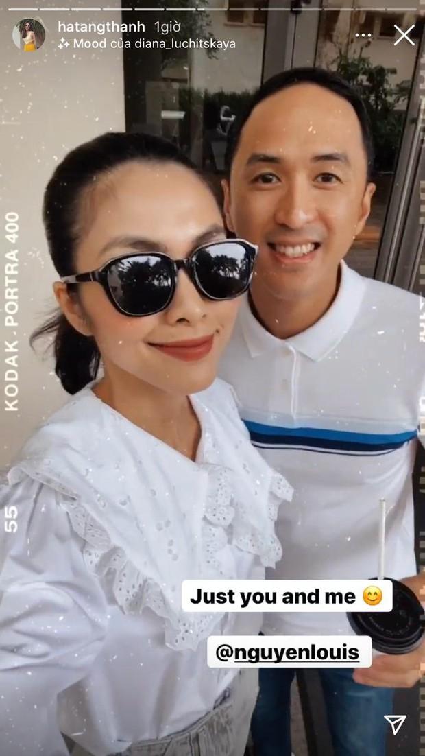 Hà Tăng khoe ảnh tình tứ bên ông xã đại gia, hé lộ phản ứng bất ngờ khi Louis Nguyễn bị fan nữ quây kín - Ảnh 4.