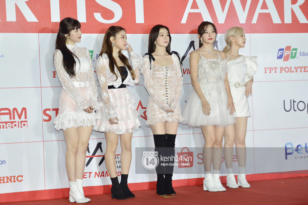 """Năm ngoái quân đoàn sao Hàn khuynh đảo thảm đỏ AAA ở Việt Nam: Yoona - Park Min Young đẹp xỉu, Ji Chang Wook, Red Velvet và dàn idol """"bùng nổ"""" - Ảnh 6."""