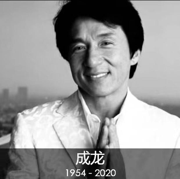 Giữa bê bối tranh gia sản, truyền thông rầm rộ tin siêu sao Thành Long lâm bệnh nặng qua đời ở tuổi 66 - Ảnh 4.