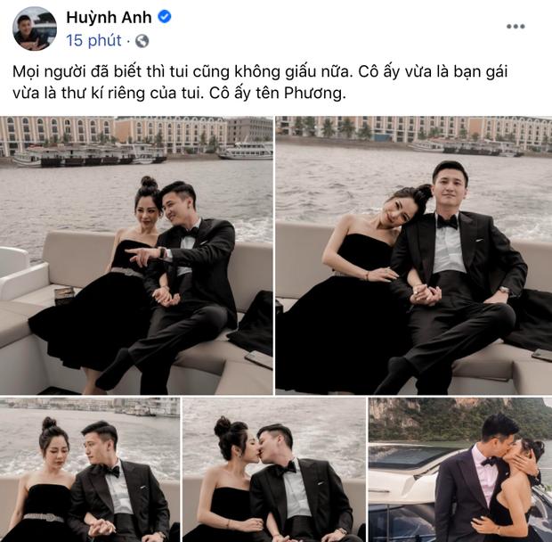 Huỳnh Anh công khai ảnh ôm ấp bạn gái MC VTV, viết hẳn status giới thiệu người ấy là ai và hé lộ vai trò đặc biệt khác của nàng - Ảnh 3.