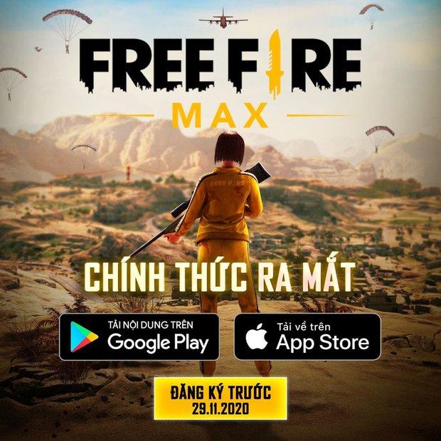 Free Fire MAX sắp chính thức phát hành tại Việt Nam, game thủ có thể đăng ký trải nghiệm ngay từ 29/11 - Ảnh 2.