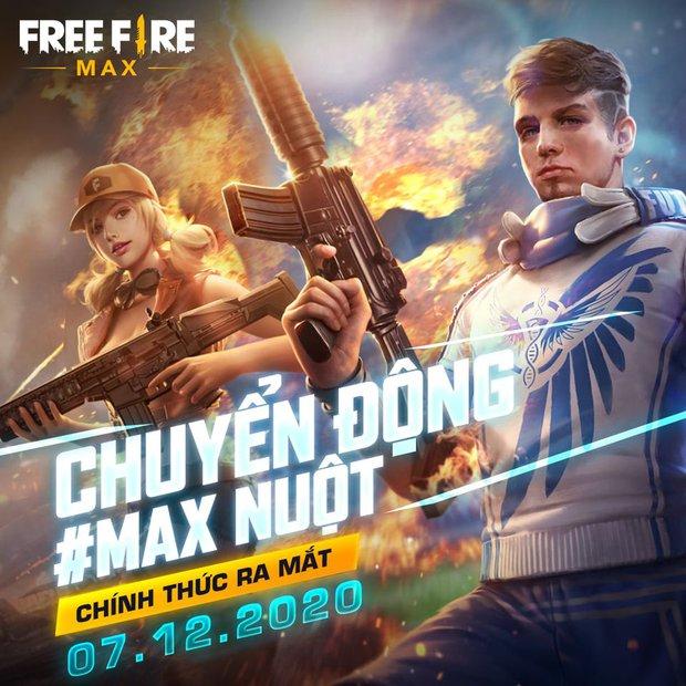 Free Fire MAX sắp chính thức phát hành tại Việt Nam, game thủ có thể đăng ký trải nghiệm ngay từ 29/11 - Ảnh 1.