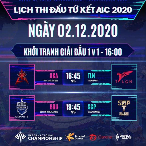 Vòng bảng AIC 2020 khép lại: Team Flash sẽ có cuộc nội chiến đầy duyên nợ cùng BOX Gaming, Saigon Phantom đối đầu Buriram United ở Tứ kết - Ảnh 3.