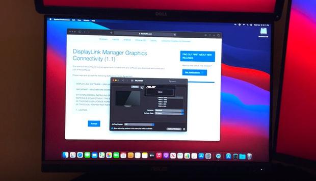 Máy Mac dùng chip Apple M1 có thể kết nối tối đa 6 màn hình nhờ giải pháp thay thế đặc biệt - Ảnh 2.