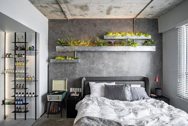 Mạnh tay đập bỏ hết tường và trần nhà, chàng trai Sài Gòn có ngay căn hộ studio cực ấn tượng, không gian mở được tận dụng tối đa - Ảnh 4.