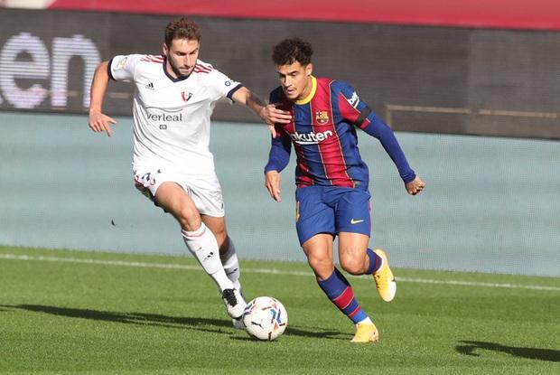 Barca đại thắng 4-0, Messi ghi bàn và mặc chiếc áo tri ân Maradona - Ảnh 3.