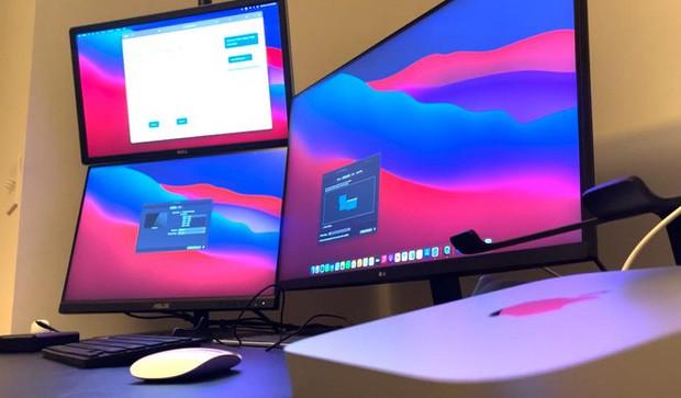 Máy Mac dùng chip Apple M1 có thể kết nối tối đa 6 màn hình nhờ giải pháp thay thế đặc biệt - Ảnh 4.