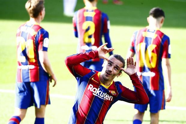 Barca đại thắng 4-0, Messi ghi bàn và mặc chiếc áo tri ân Maradona - Ảnh 7.
